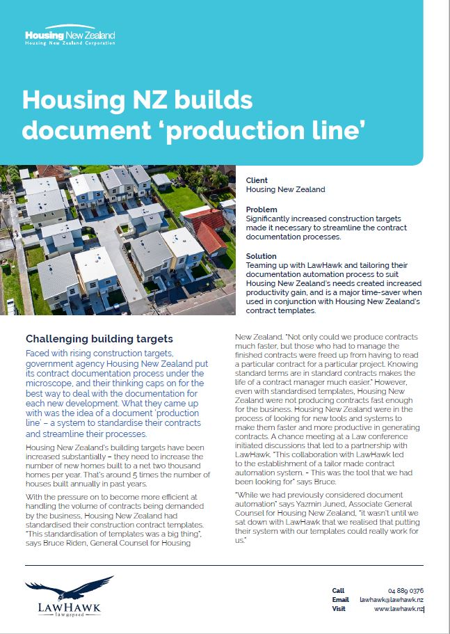 Housing New Zealand Case Study