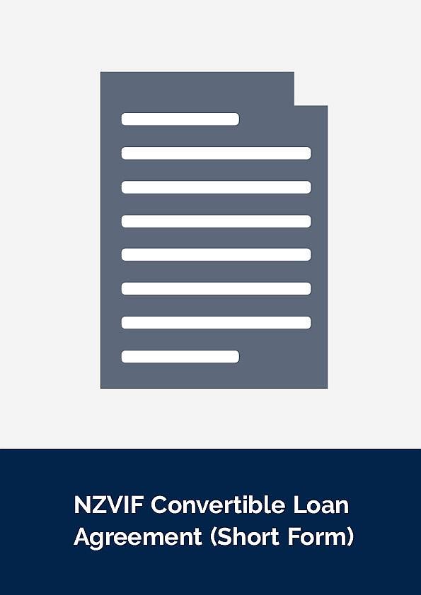 Nzvif Convertible Loan Agreement