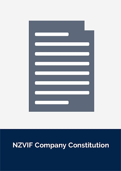NZVIF Company Constitution