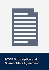 NZVIF Subscription and Shareholders Agreement