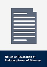 Notice of Revocation of Enduring Power of Attorney