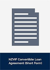 NZVIF Convertible Loan Agreement - Short Form
